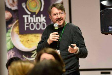 Tiberiu Cazacioc la conferinta Think Food 2016