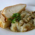 Ciapă friptă cu măruntaie, rețetă din zona Sălaj de Mircea Groza