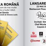 """Invitație la eveniment: lansarea volumului """"Bucătăria română 1865"""" deChrist Iónnin"""