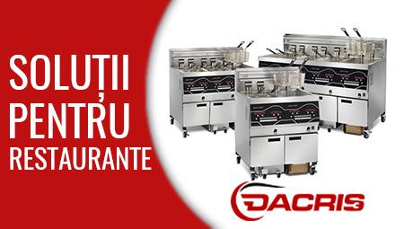 Dacris.ro vă oferă cele mai noi tehnologii pentru bucătăriile profesionale